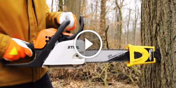 Sharpen Your Chainsaw With Oregon Powersharp System
