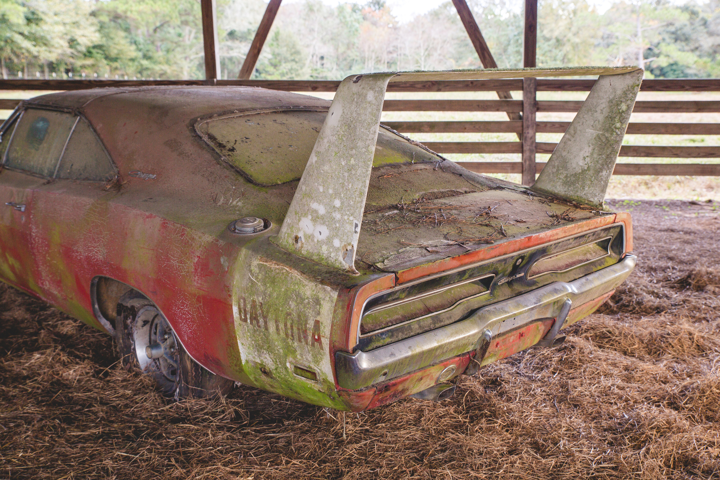 1969 dodge daytona barn find 7