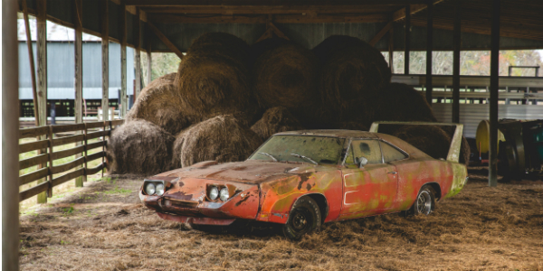1969 dodge daytona barn find TN