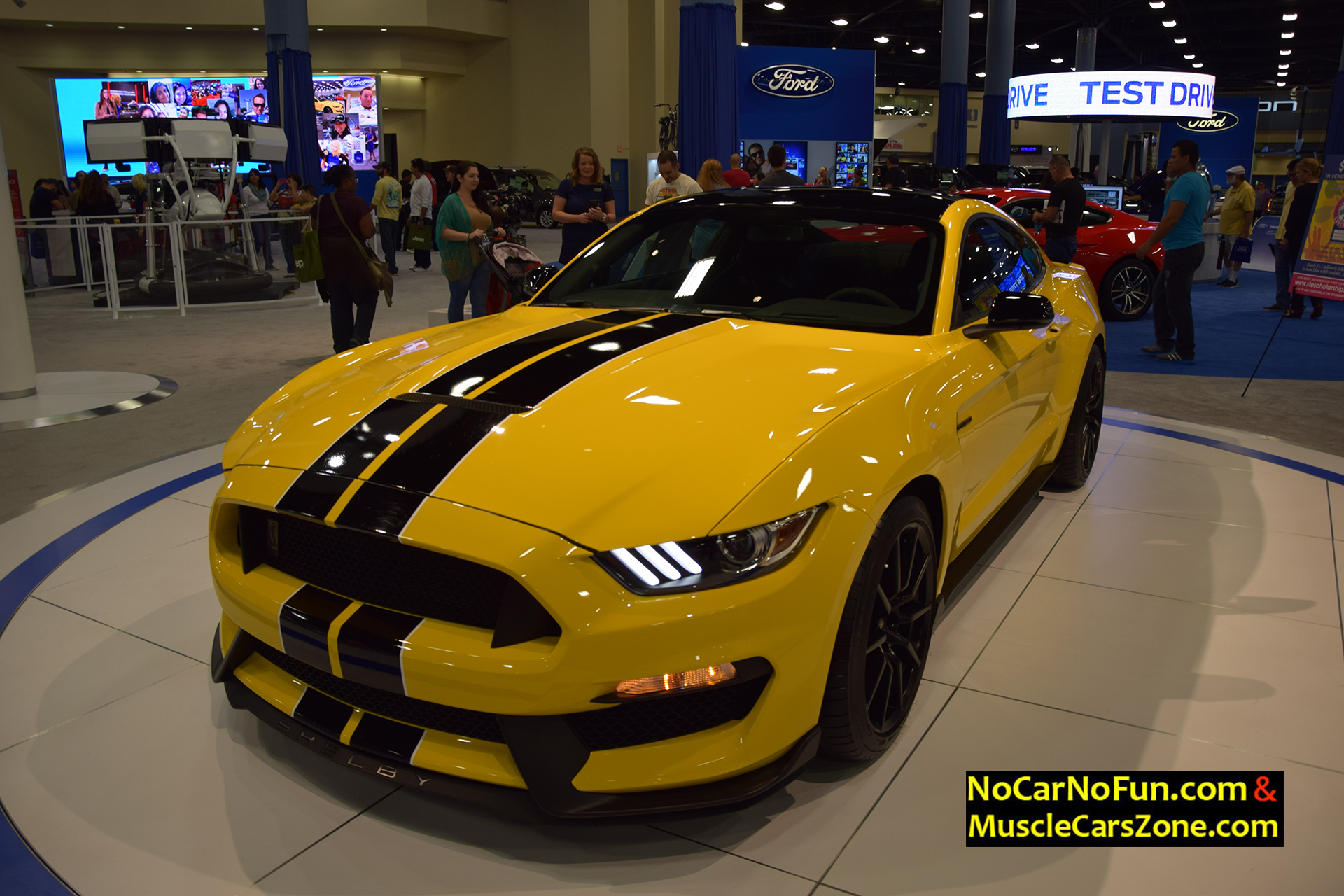2016 Ford Mustang Shelby Gt 350 Miami Auto Show 2017 1
