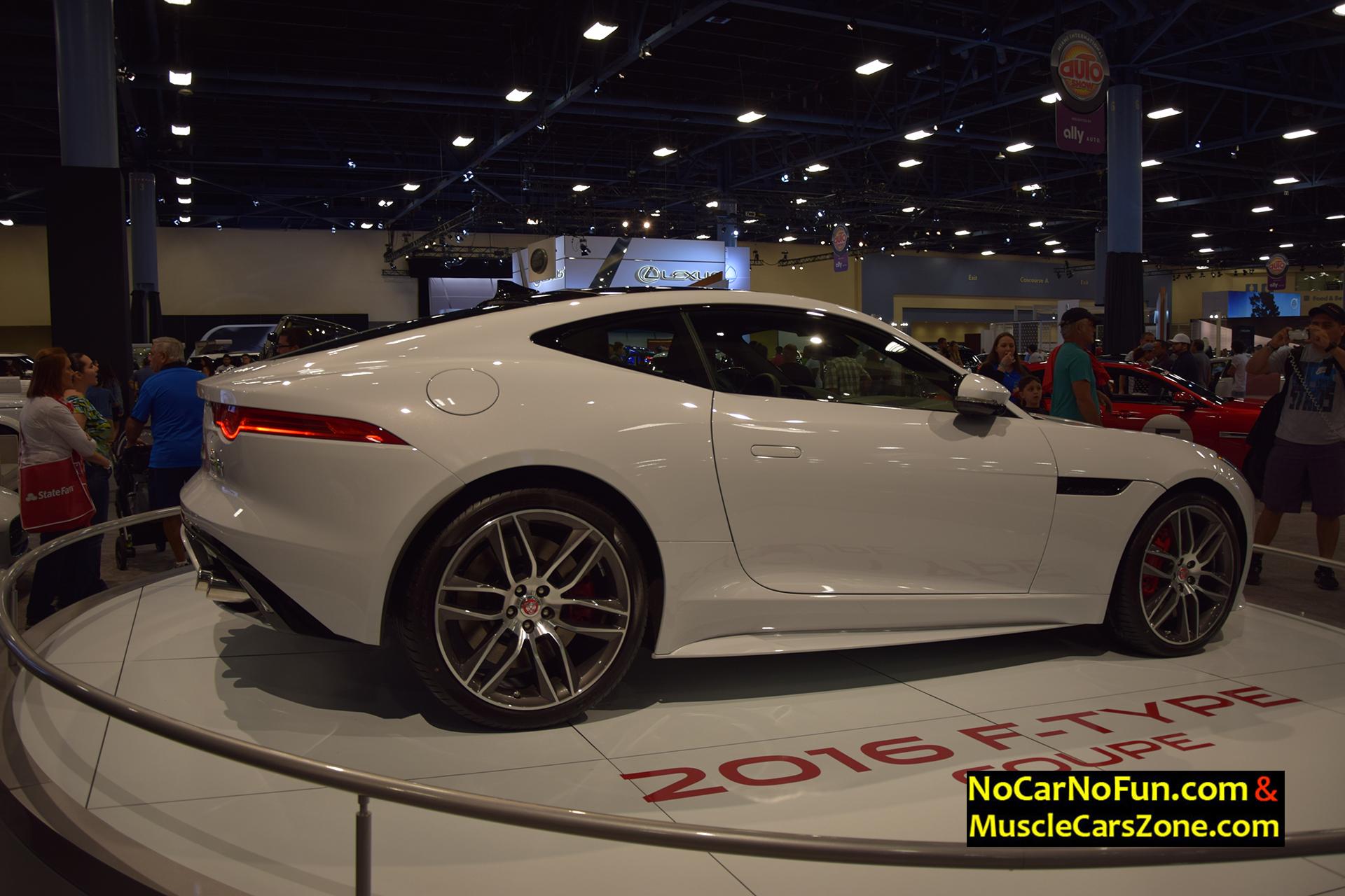 2016 Jaguar F-Type Coupe - Miami Auto Show 2015 1 - Muscle Cars Zone!