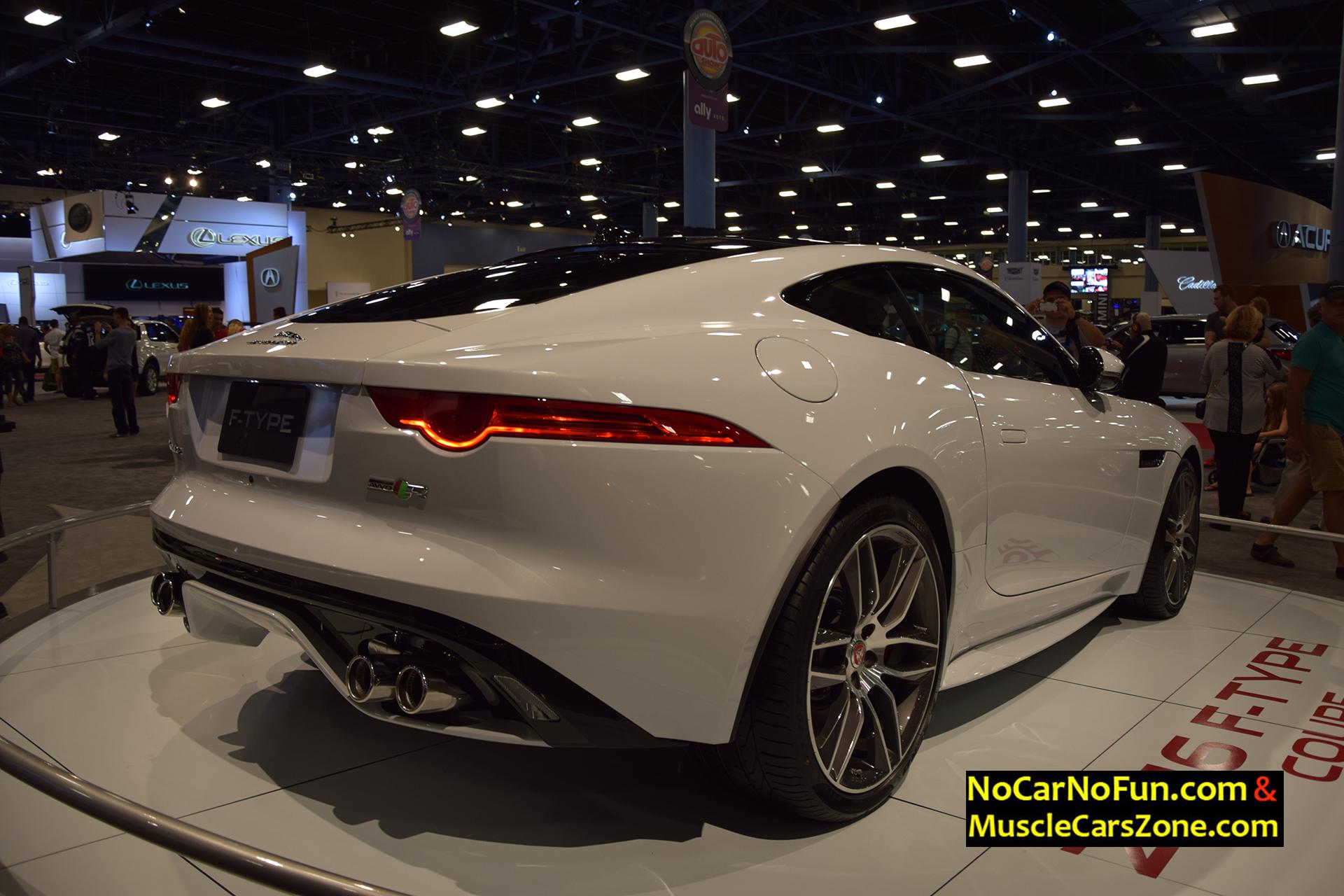 2016 Jaguar F-Type Coupe - Miami Auto Show 2015 2 - Muscle Cars Zone!