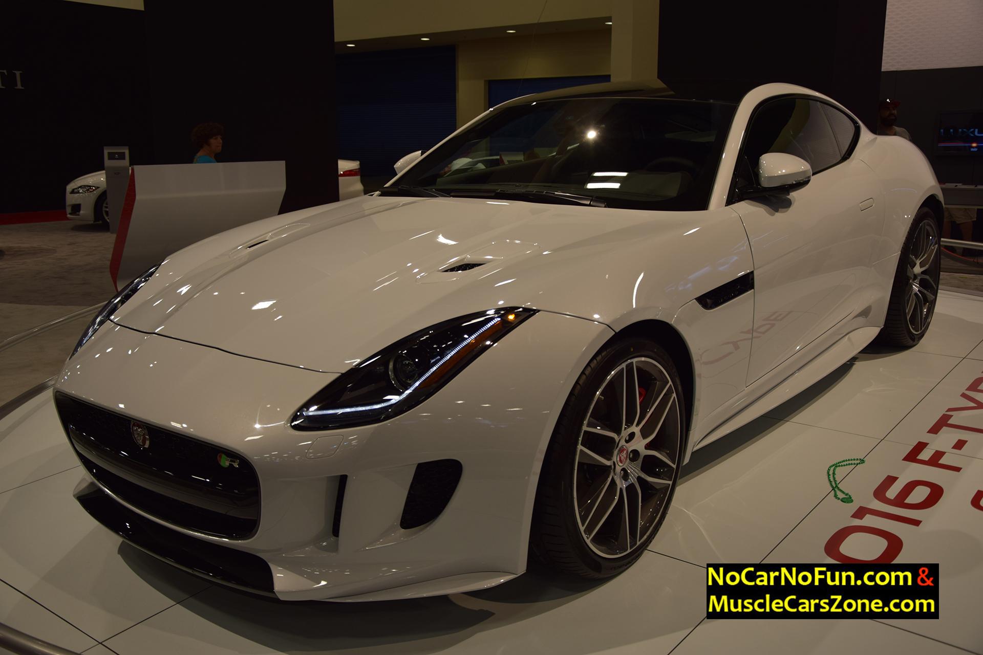 2016 Jaguar F-Type Coupe - Miami Auto Show 2015 5 - Muscle Cars Zone!