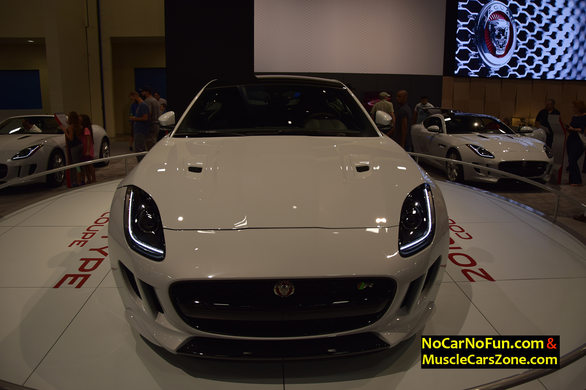 2016 Jaguar F-Type Coupe - Miami Auto Show 2015 7 - Muscle Cars Zone!