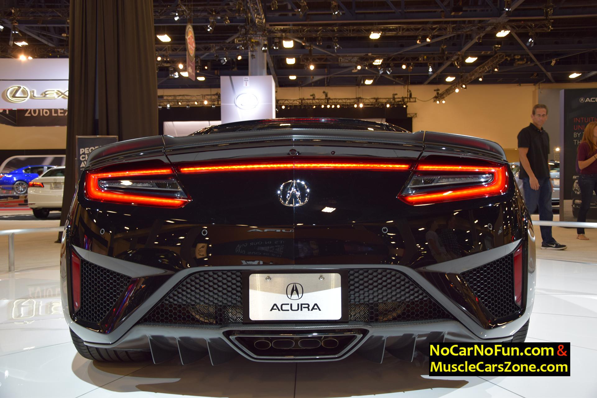 2017 Acura NSX - Miami Auto Show 2015 6 - Muscle Cars Zone!