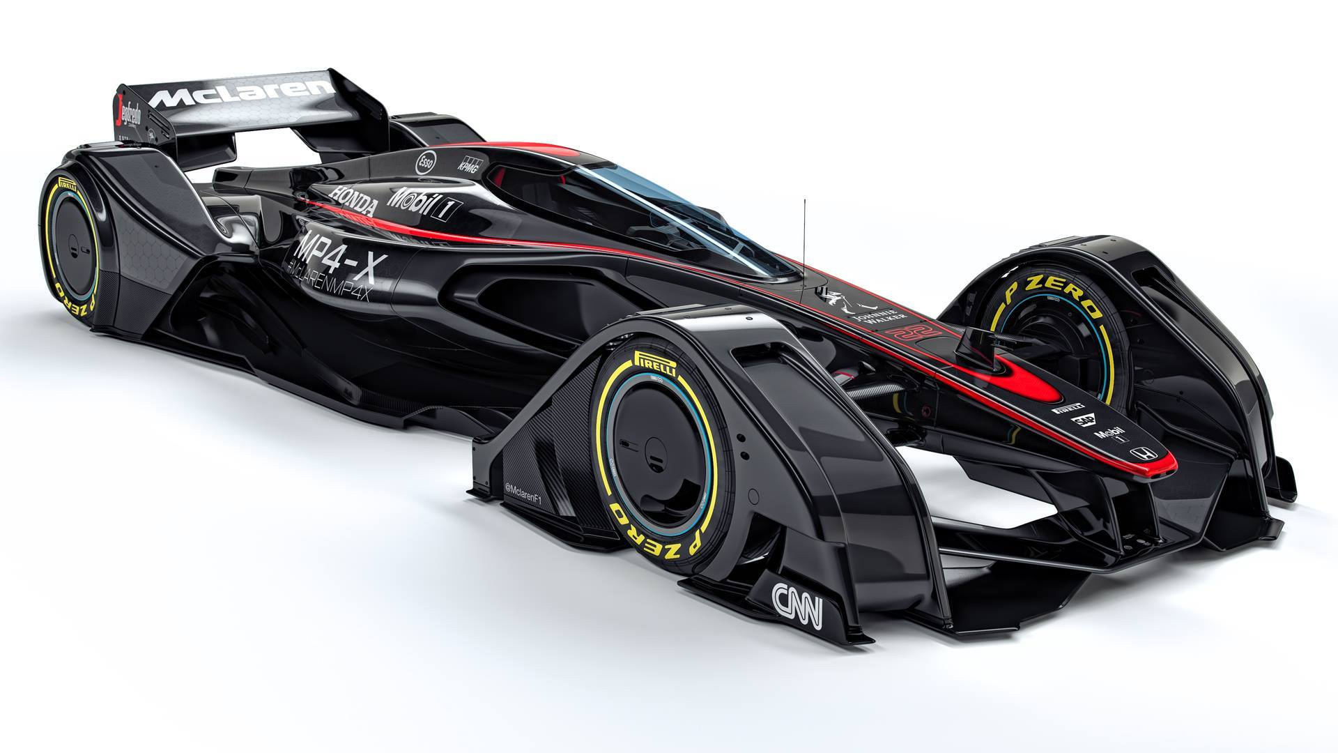 F1 Future - McLaren MP4-X 1