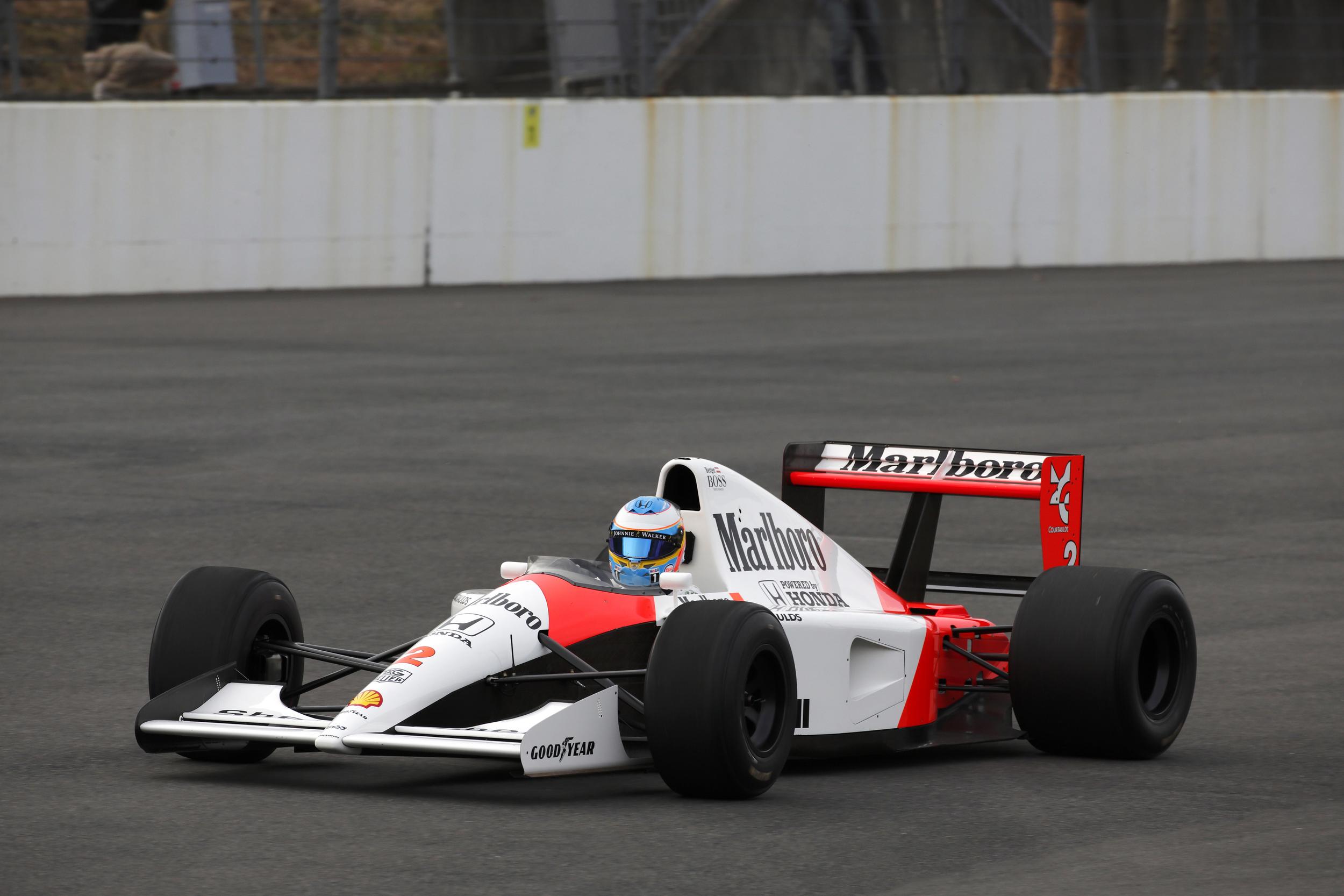 Fernando Alonso Rode Honda RC213V 4