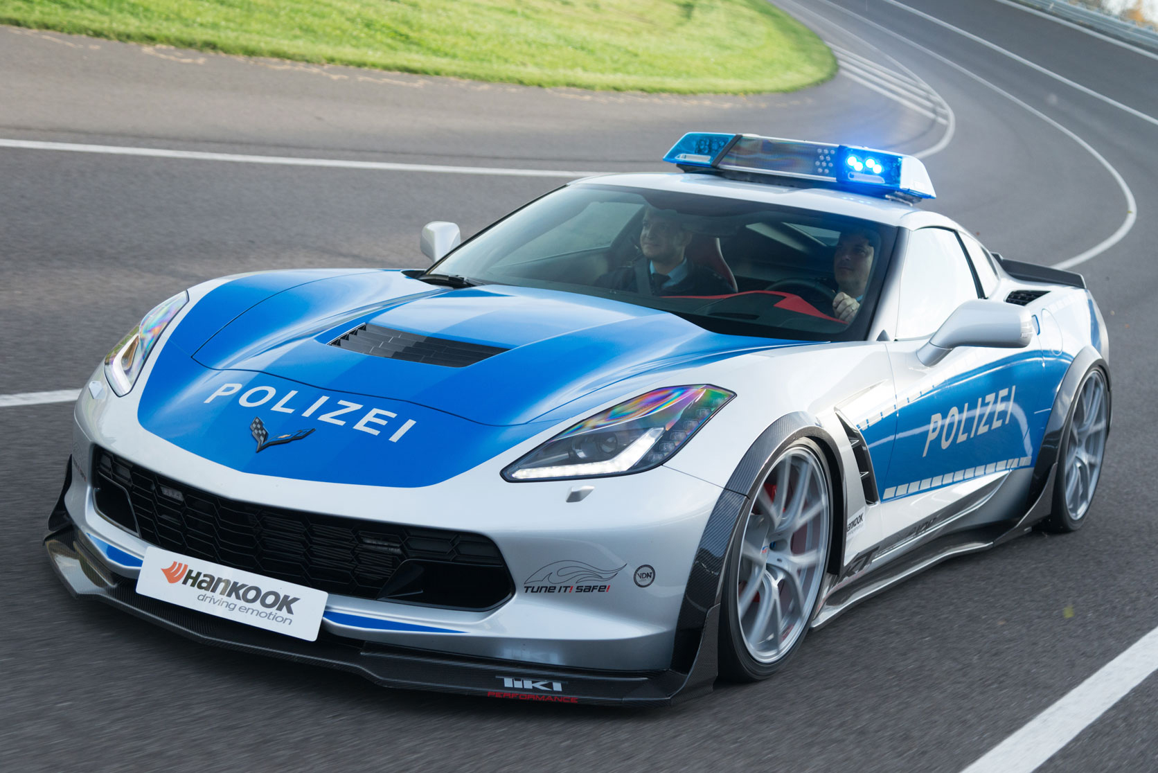 German Police Chevrolet Corvette 1
