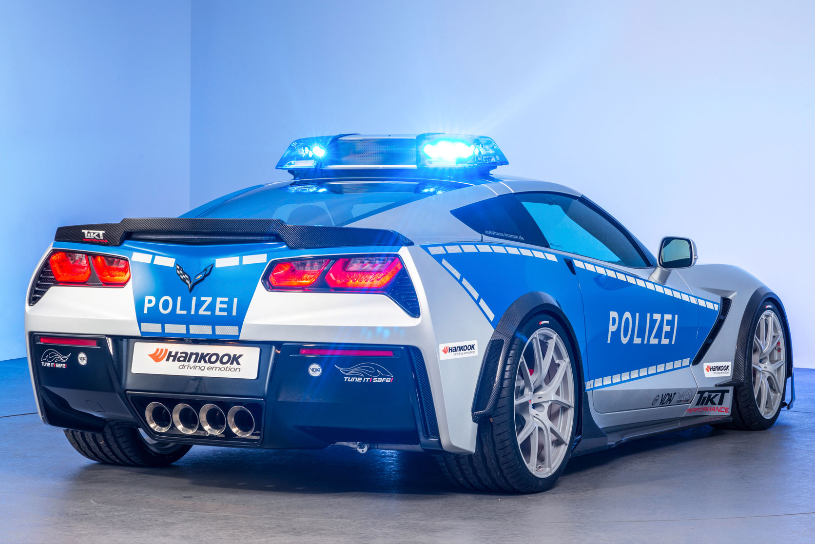 German Police Chevrolet Corvette 6