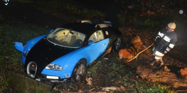 JUSTIN BIEBER CRASHED A BUGATTI VEYRON Ran Off 3