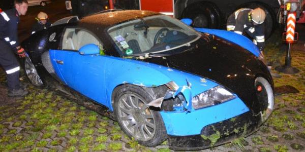 JUSTIN BIEBER CRASHED A BUGATTI VEYRON Ran Off