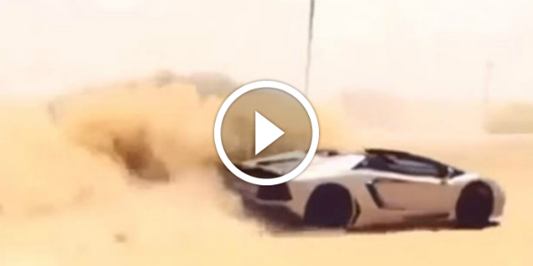 Taking A Lamborghini Aventador Roadster Off Road