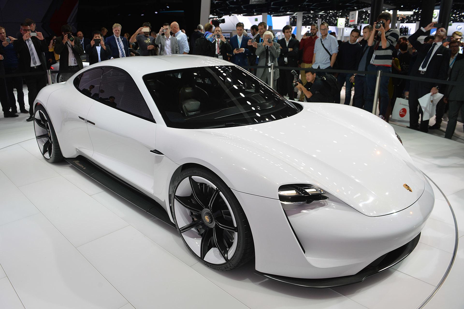 Mission E Concept Sedan By Porsche 1