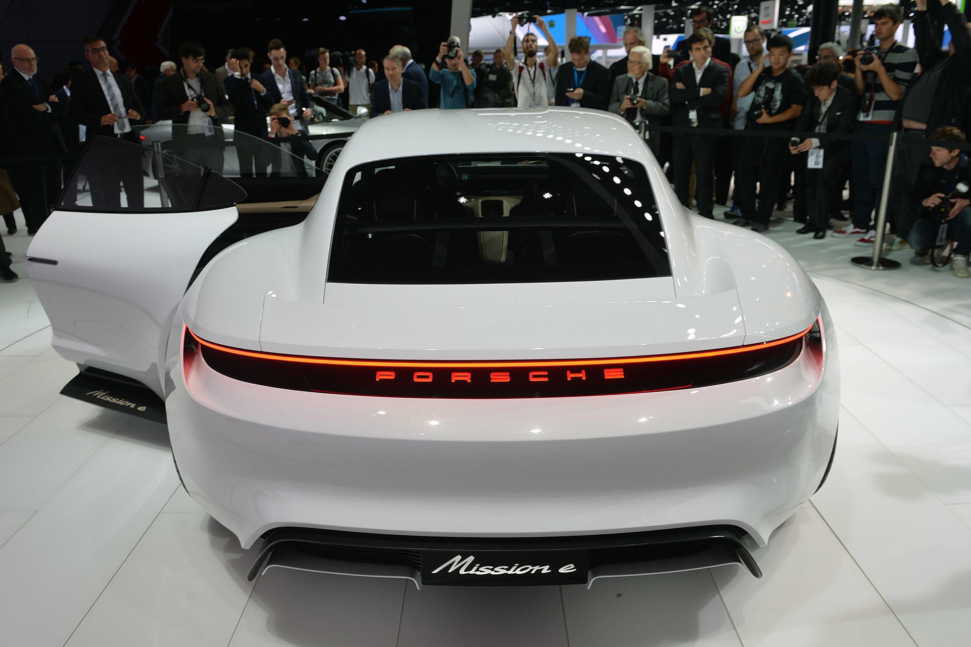 Mission E Concept Sedan By Porsche 6