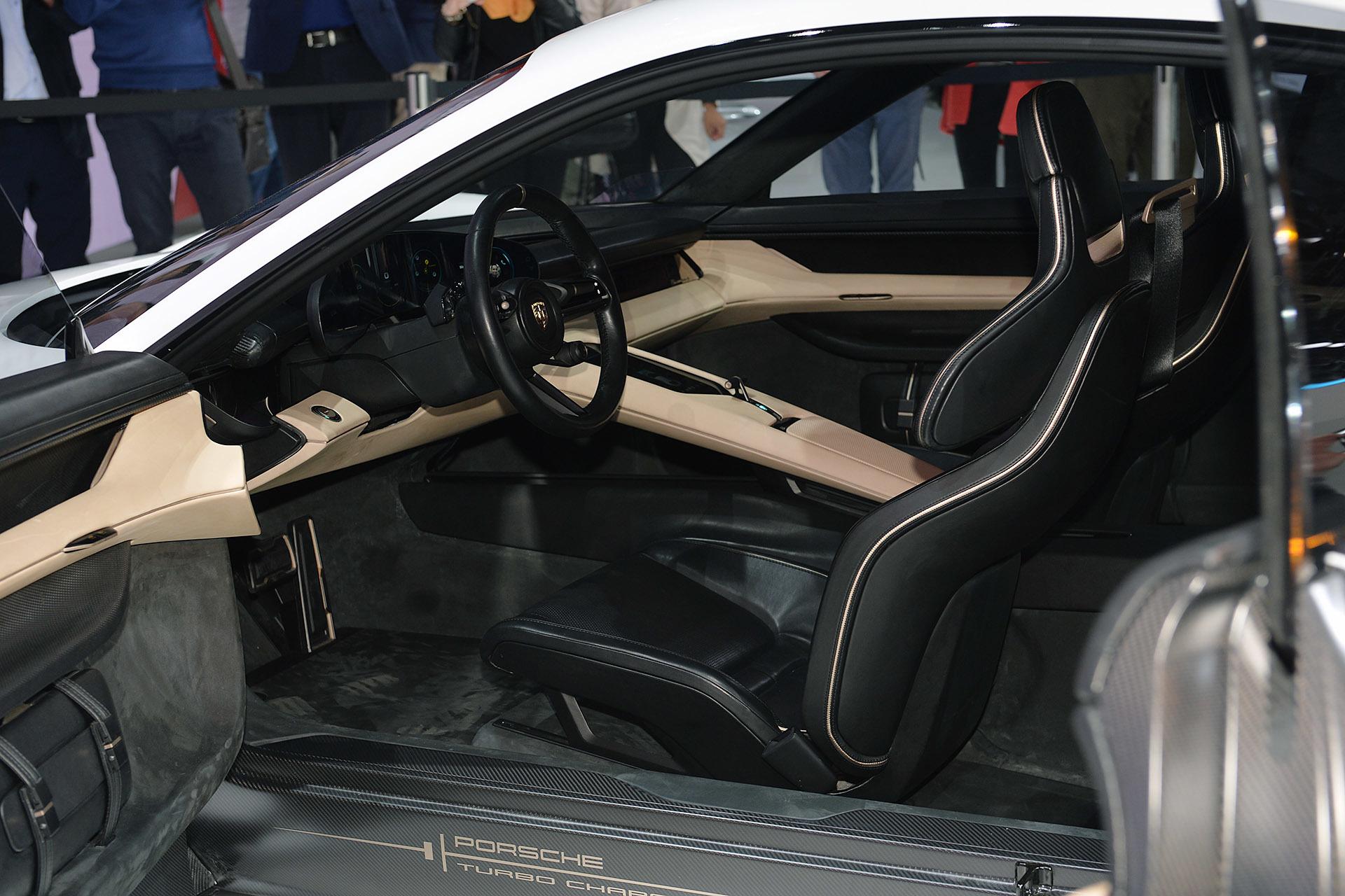 Mission E Concept Sedan By Porsche 8