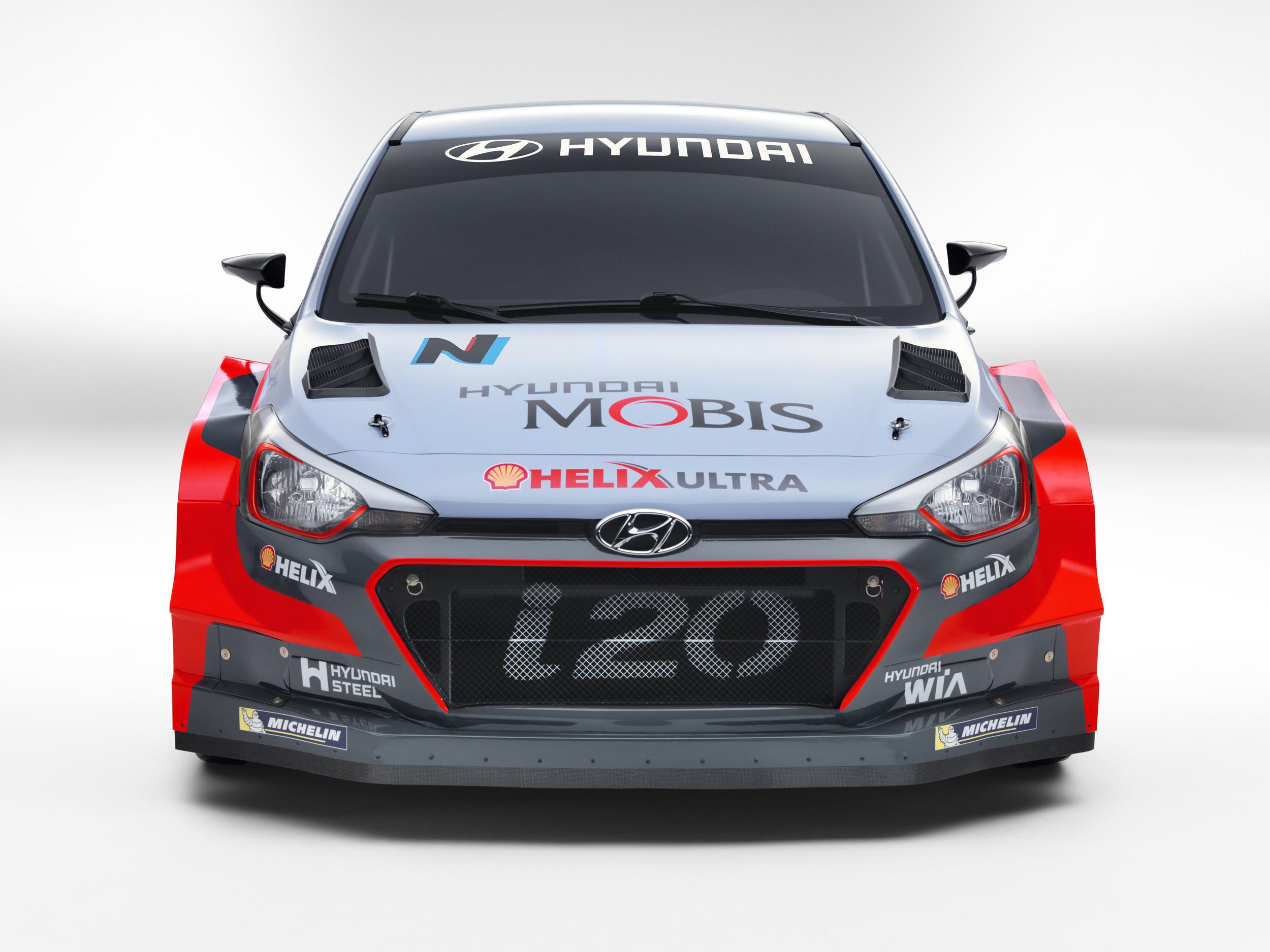 New Hyundai i20 WRC 2
