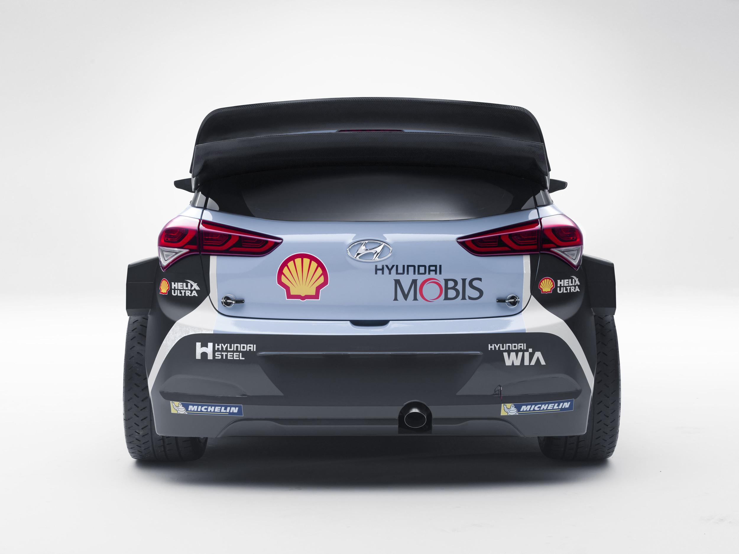 New Hyundai i20 WRC 7