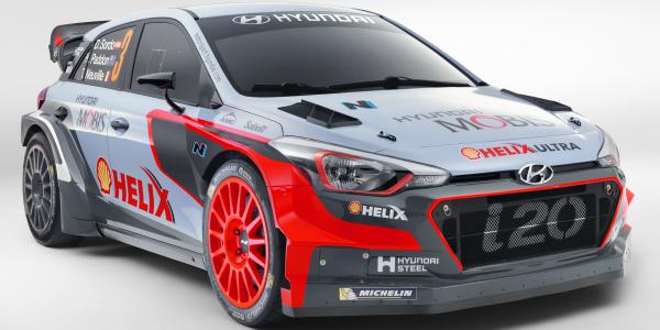 New Hyundai i20 WRC cover