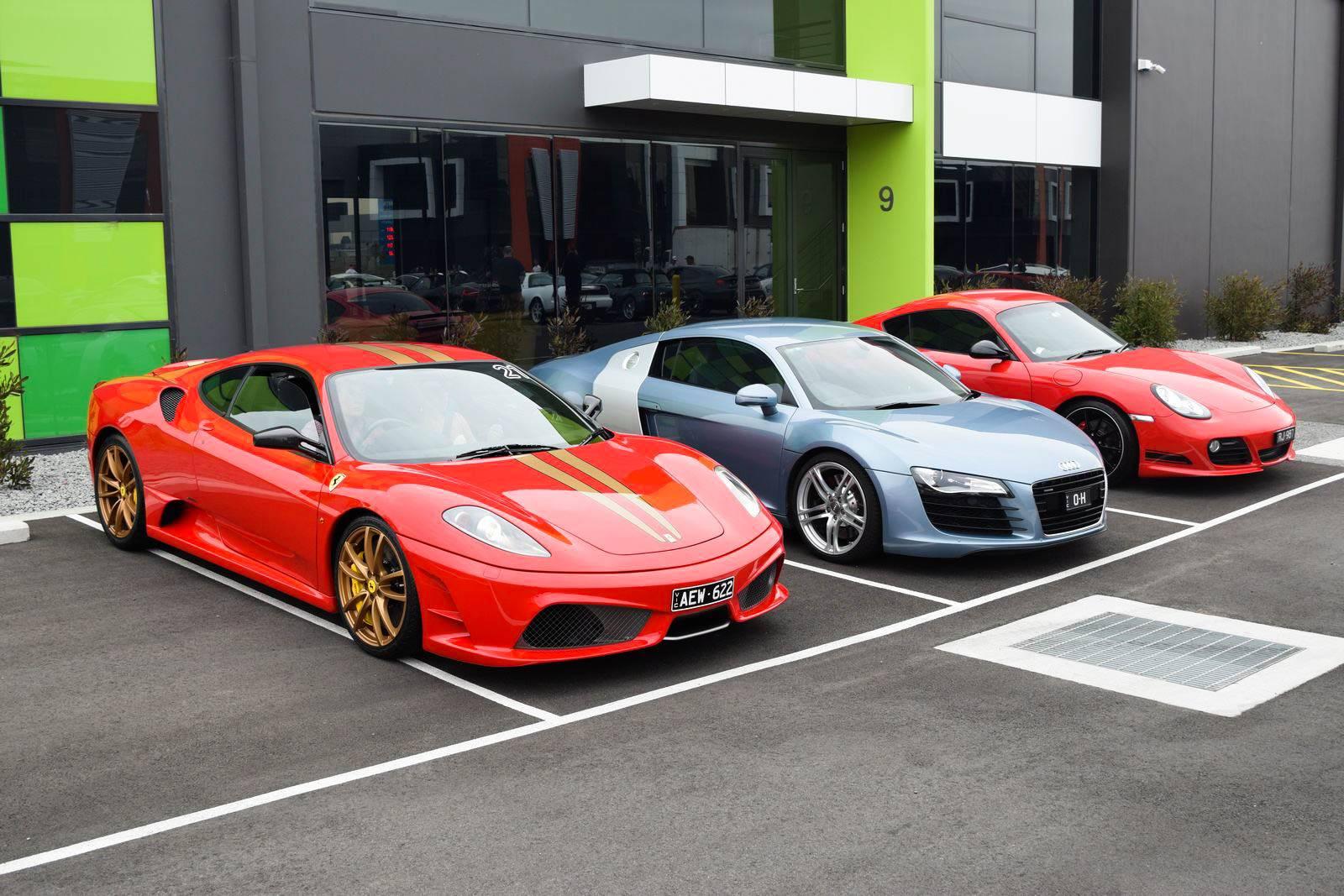 Otium Club Gathered The Australian High Performance Automobiles 1