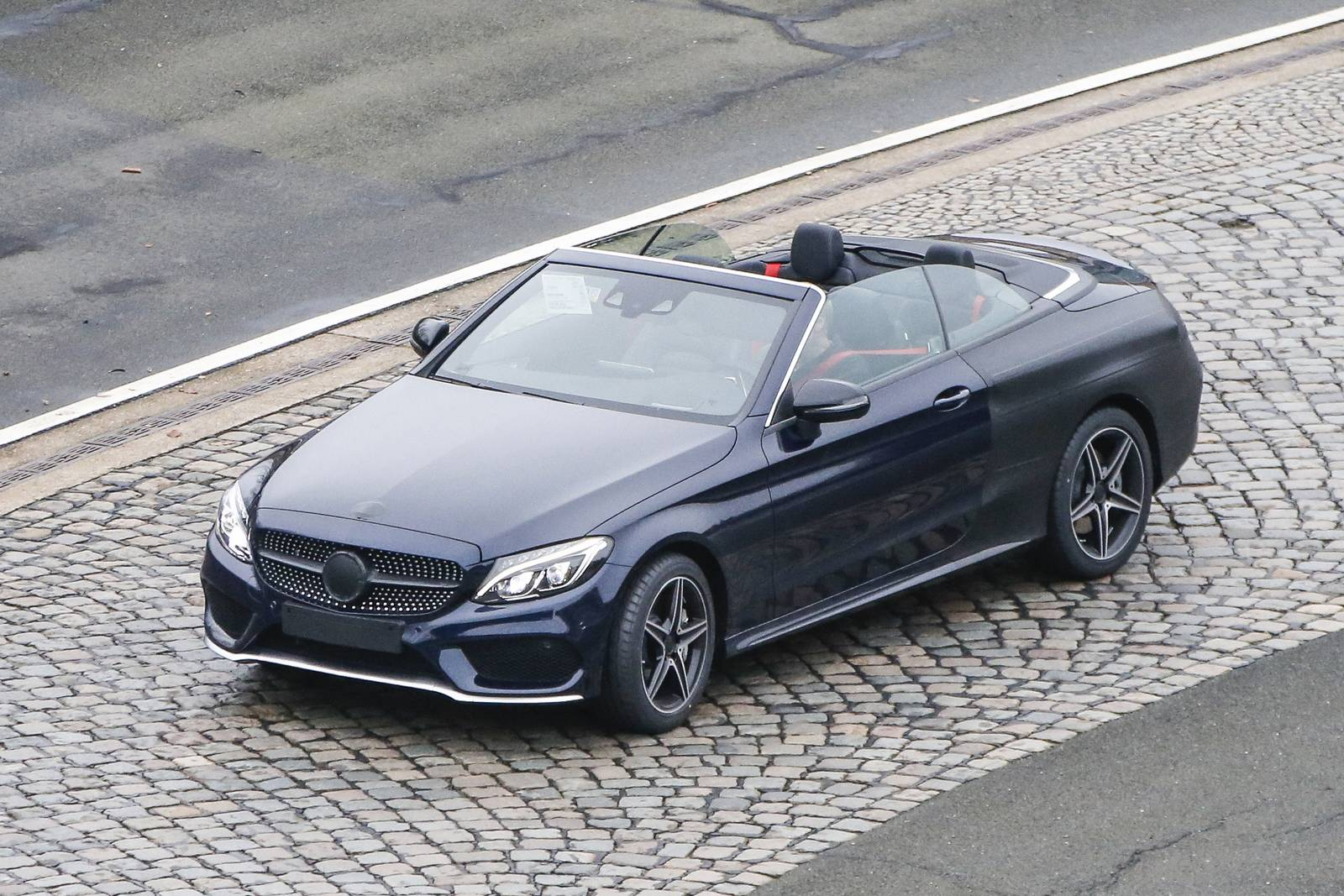 Spy Images From Drop Top 2017 Mercedes-Benz C-Class 6