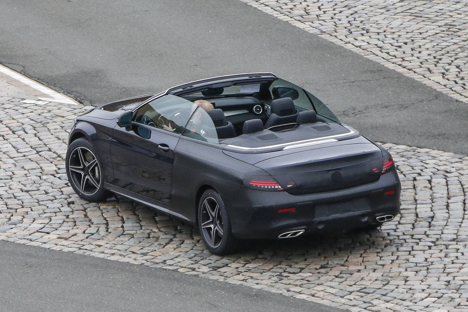 Spy Images From Drop Top 2017 Mercedes Benz C Cl 8