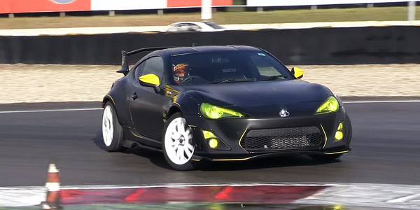 350hp toyota gt86 turbo with greddy turbo kit muscle. Black Bedroom Furniture Sets. Home Design Ideas