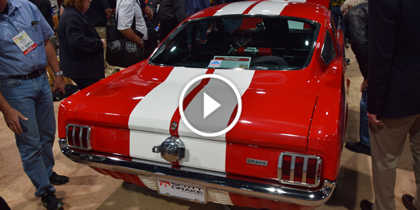 Ford Mustang Shelby Cobra Scott Drake at 2015 Sema