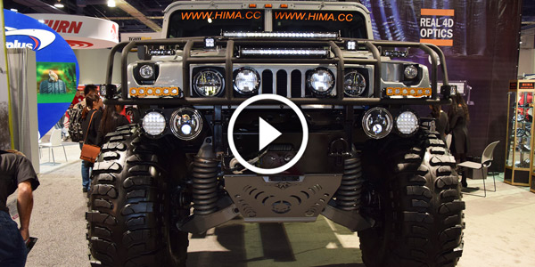 Extremely Lifted Hummer h2 by Hima