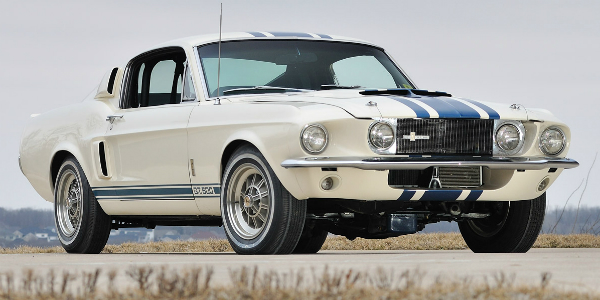 MOST EXPENSIVE Muscle Cars 1967 Shelby GT500e Super Snake