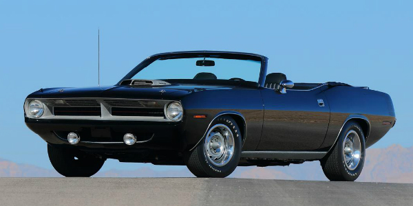 1970 Chrysler Plymouth Hemi Barracuda Convertible