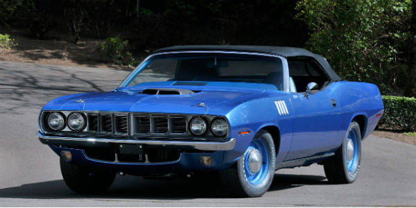 1971 Chrysler Plymouth Hemi Barracuda Convertible 4-Speed