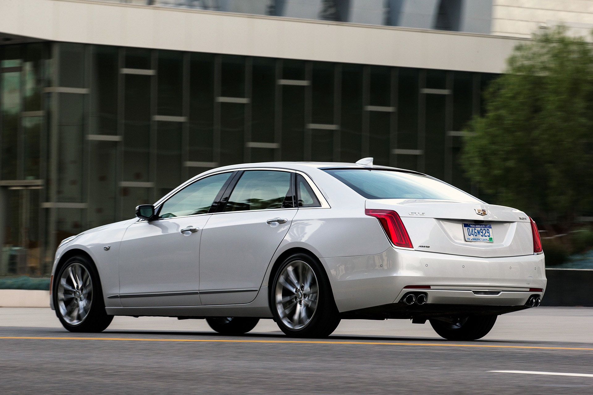 Cadillac A Competition For German Sedans In Usa