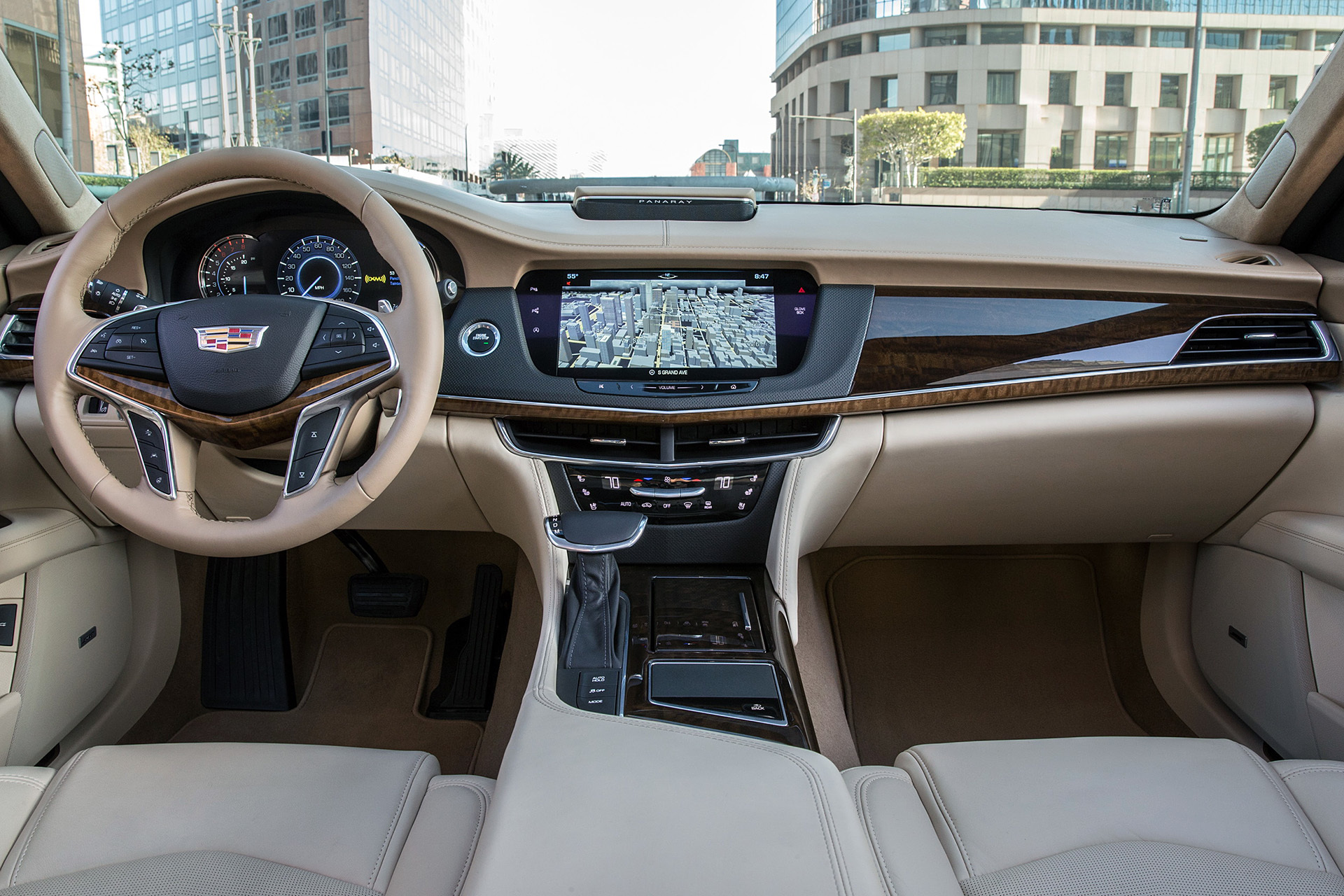 2016 Cadillac CT6 A Competition For German Sedans In USA 6