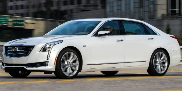 2016 Cadillac CT6 A Competition For German Sedans In USA cover