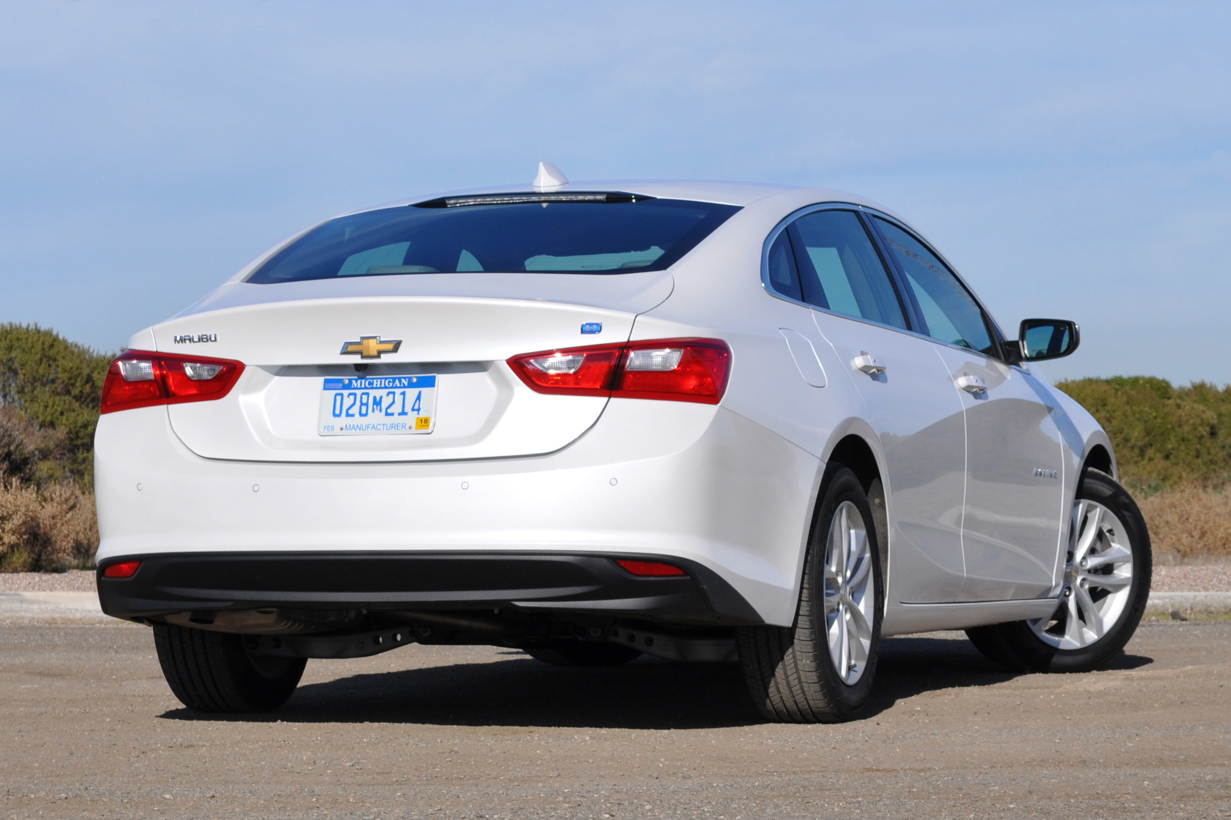 2016 Chevrolet Malibu Powered By ONE 1.8 Liter Engine And TWO Electric Motors 7