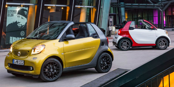 2017 Smart Fortwo Convertible Edition cover