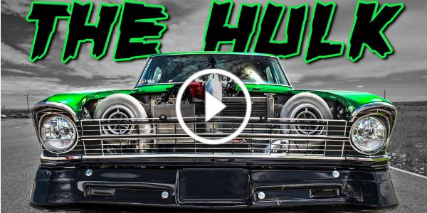 2500 Horsepower 1967 CHEVROLET NOVA aka The HULK 1 play