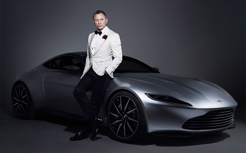 Aston Martin DB10 From James Bond Latest Movie SPECTRE Is Going On Auction 1