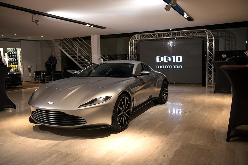 Aston Martin DB10 From James Bond Latest Movie SPECTRE Is Going On Auction 7
