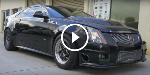 FASTEST CADILLAC CTS V Covers 1/4 Mile In 8.96 Seconds!