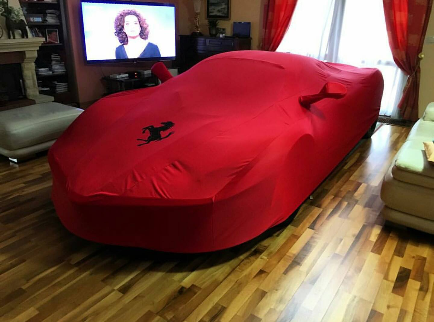 Ferrari LaFerrari In A Living Room 1