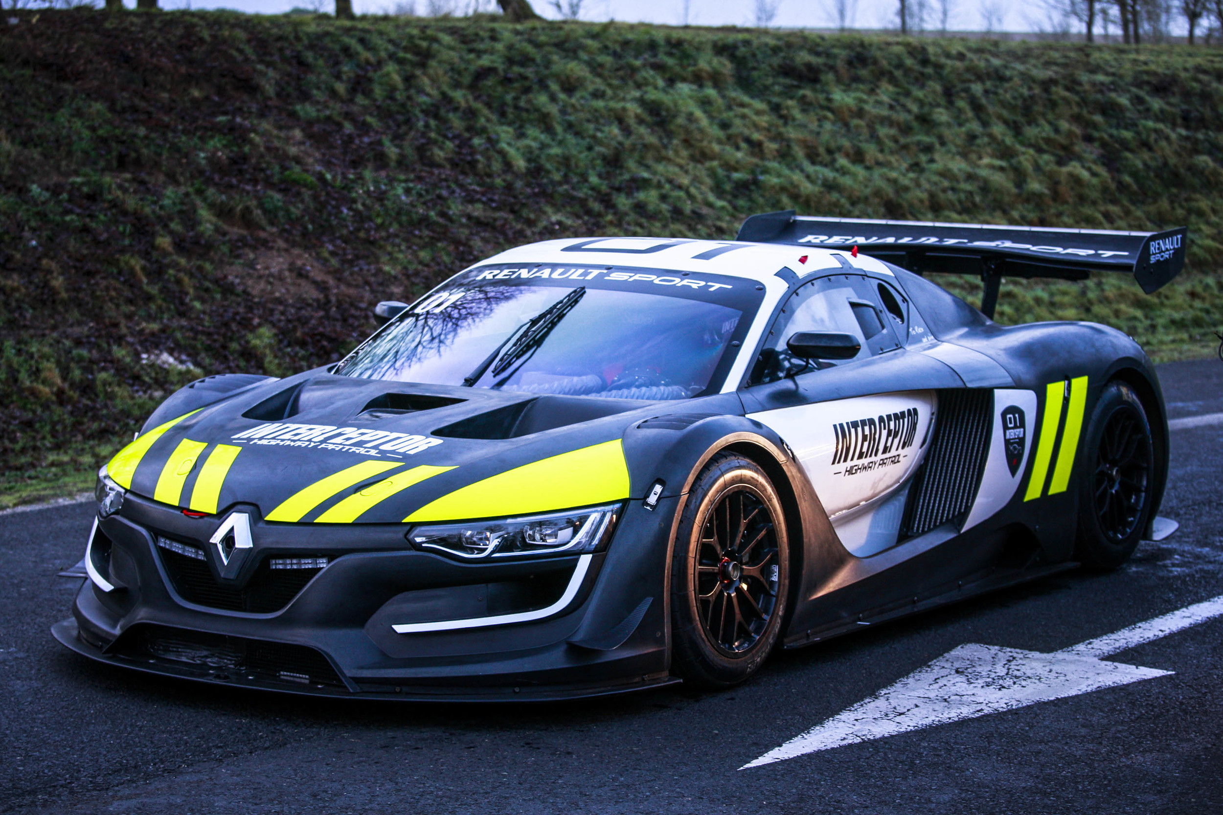 french police concept vehicle renault sport rs 01 interceptor 4 muscle cars zone. Black Bedroom Furniture Sets. Home Design Ideas