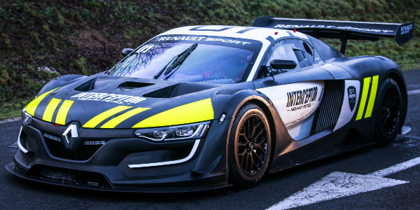 French Police Concept Vehicle Renault Sport RS 01 INTERCEPTOR cover