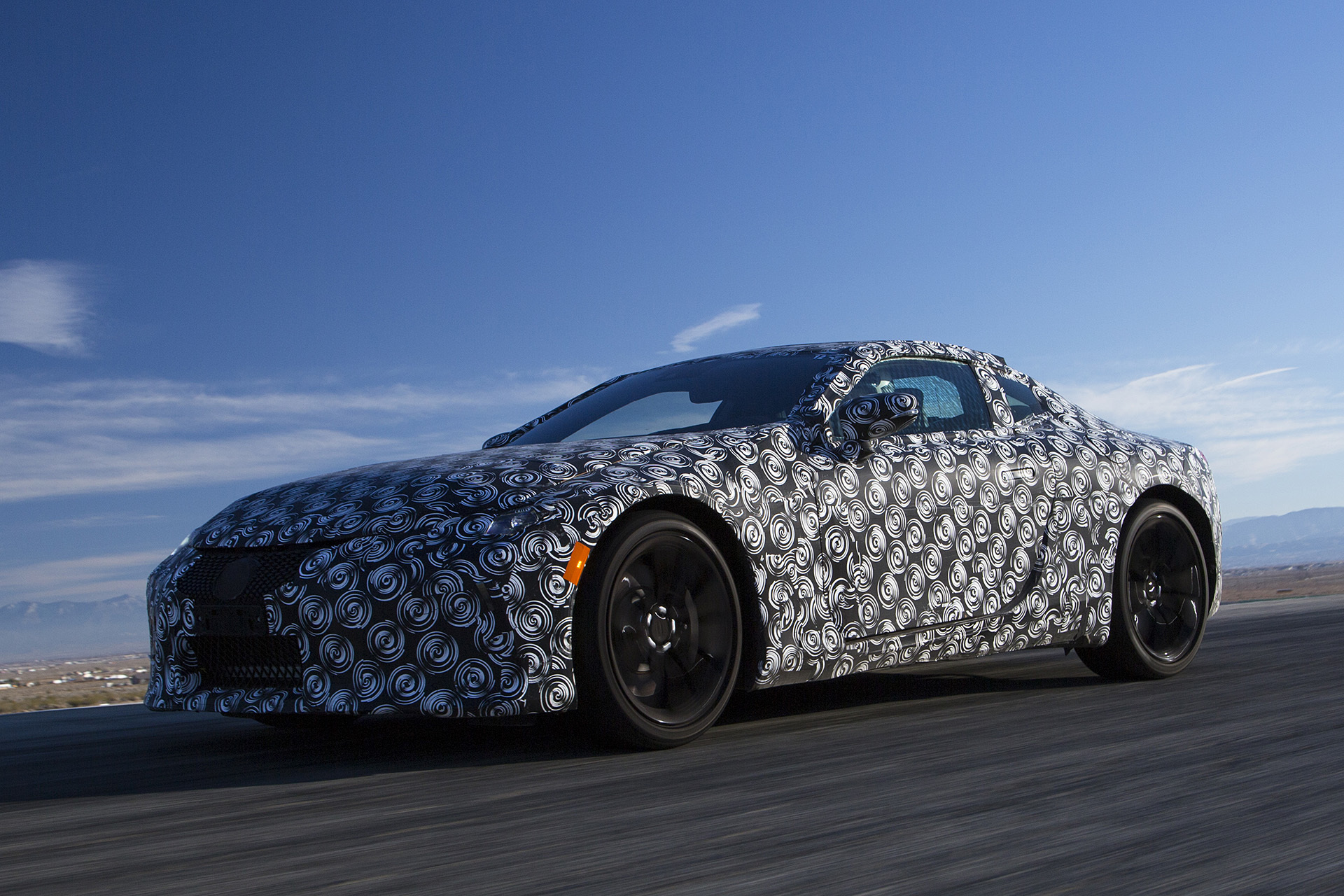 Heavy Camouflaged Lexus Lc Prototype Muscle Cars Zone
