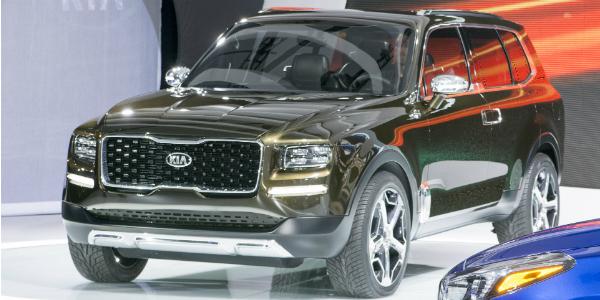 new Kia Telluride Concept Bigger Than Kia Sorento cover