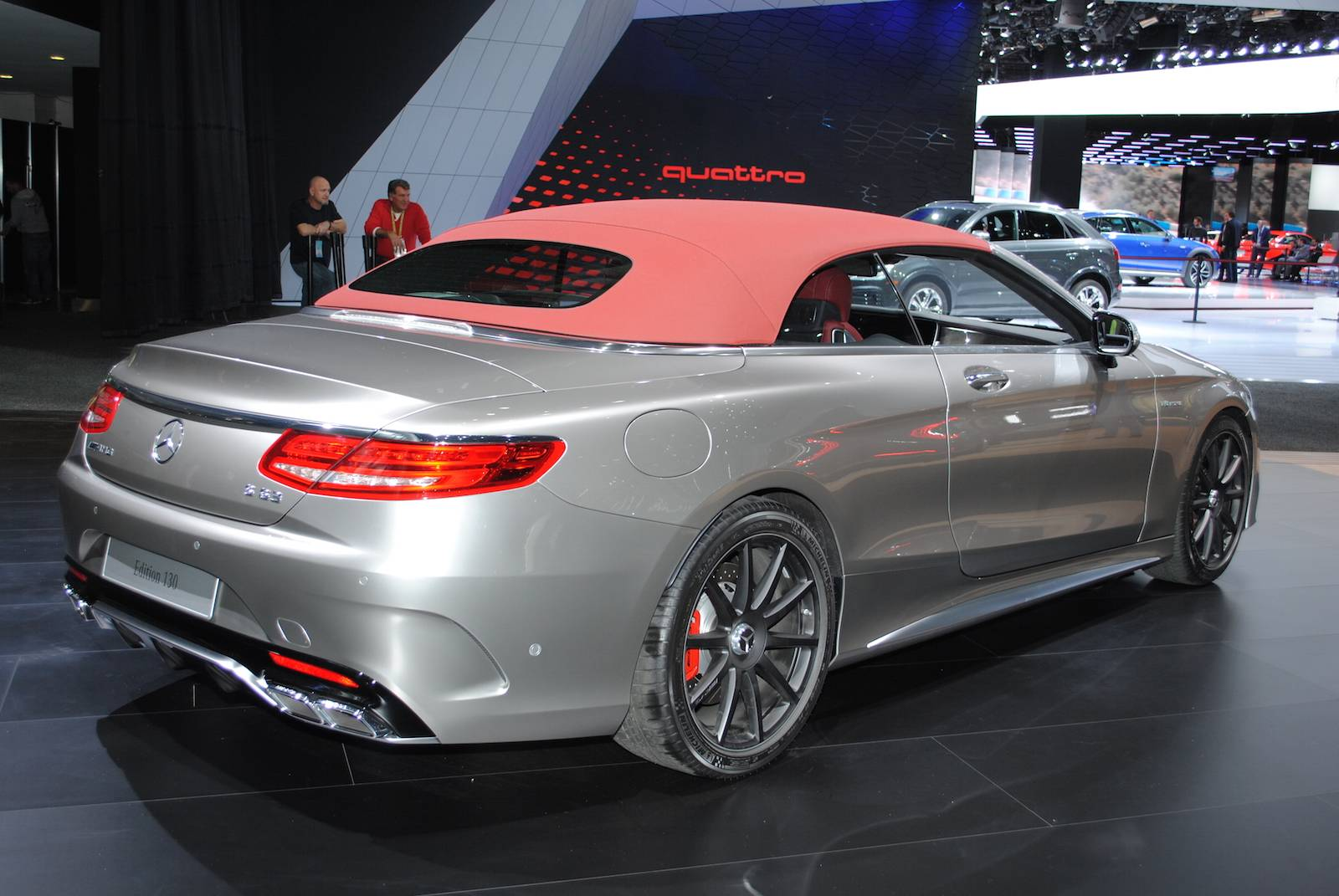 MERCEDES AMG S63 Cabrio 130 Edition at Detroit 2016!