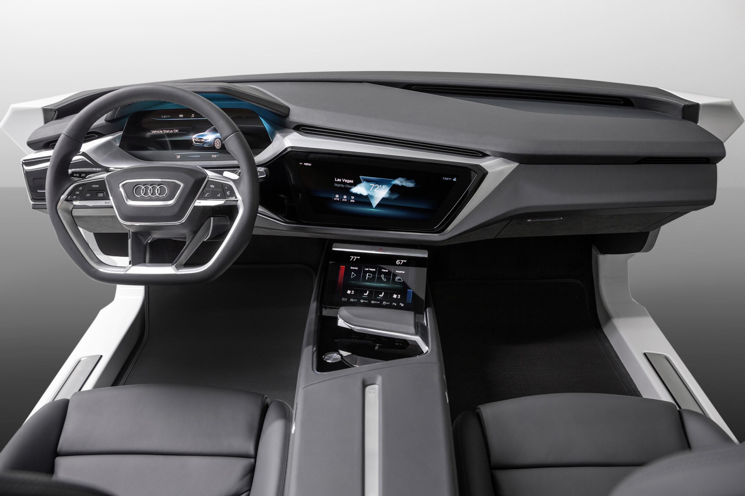 Virtual Dashboard Interior Concept By Audi 1