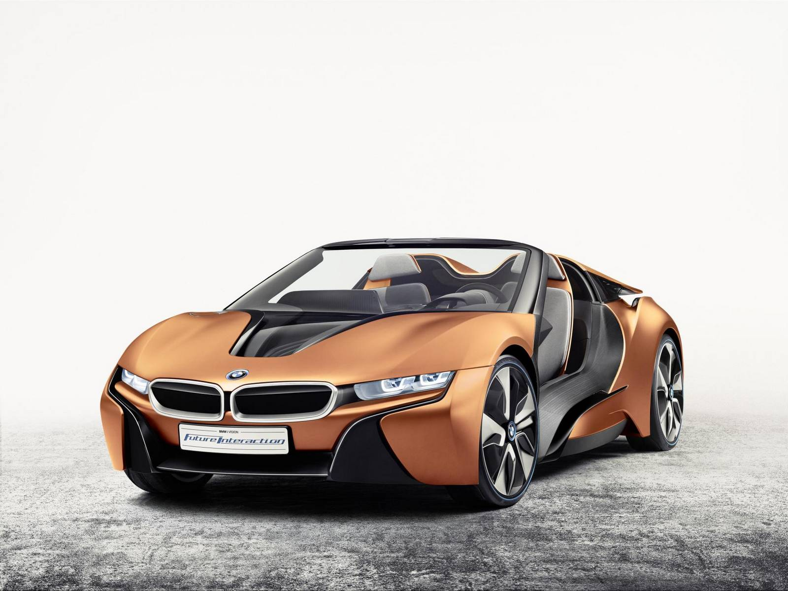i Vision Future Interaction Concept By BMW 1