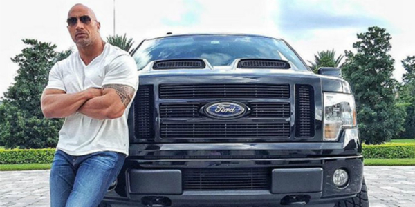 2016 Ford F150 Lifted >> Christmas Gift From THE ROCK - The BLACK GORILLA Ford Truck!