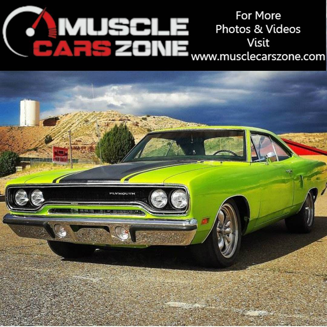 1970 Roadrunner 383 4Speed Painted In FJ3 Lime Light!car carshellip
